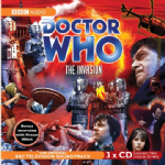 Doctor Who, The Invasion,CD COVER ONLY signed by Nick Courtney, Sally Faulkner & Ian Fairbairn 1348